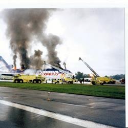 1996-SEP-04 Fire, Flight 1406